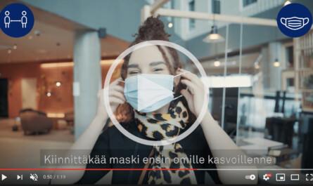 VALO Hotelli Helsinki Turvaohjeistus video