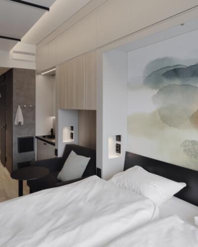 VALO Hotelli Helsinki hotellihuone Comfort