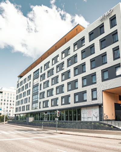 VALO Hotelli Helsinki julkisivu