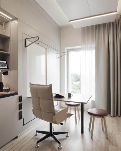 VALO Hotelli Helsinki työhuone Smart