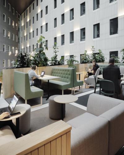 VALO Hotelli Helsinki Work lounge